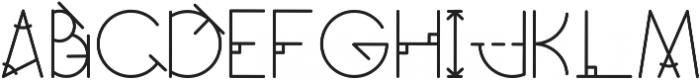 GeoMath Pluz Pluz ttf (400) Font UPPERCASE