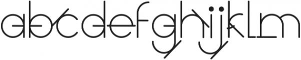 GeoMath Pluz Pluz ttf (400) Font LOWERCASE