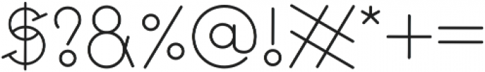 GeoMath  Smooth Smooth ttf (400) Font OTHER CHARS