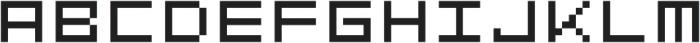 Geoblocks Text One otf (400) Font LOWERCASE