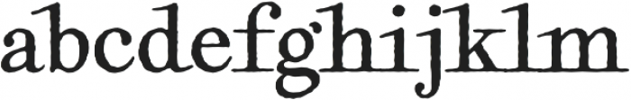 Geographica Hand otf (400) Font LOWERCASE
