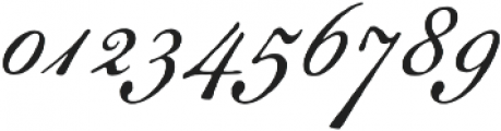 Geographica Script otf (400) Font OTHER CHARS