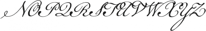 Geographica Script otf (400) Font UPPERCASE