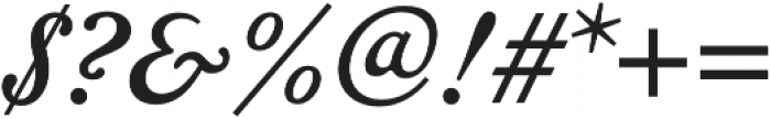 Geographica otf (400) Font OTHER CHARS