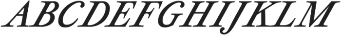 Geographica otf (400) Font UPPERCASE