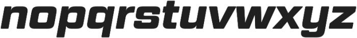 Geom Graphic Bold Italic otf (700) Font LOWERCASE