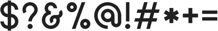 Geomaniac otf (400) Font OTHER CHARS