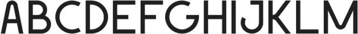 Geomaniac otf (400) Font UPPERCASE
