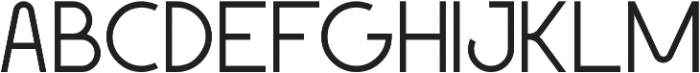 Geomaniac ttf (300) Font UPPERCASE