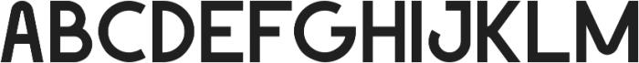 Geomaniac ttf (700) Font UPPERCASE