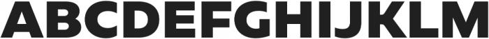 Geometrica Black otf (900) Font UPPERCASE