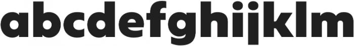Geometrica Black otf (900) Font LOWERCASE