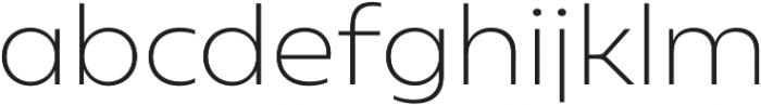 Geometrica ExtraLight otf (200) Font LOWERCASE