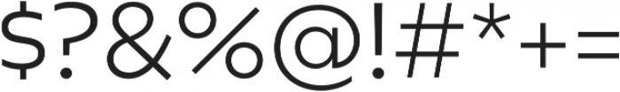 Geometrica Light otf (300) Font OTHER CHARS