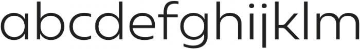 Geometrica Light otf (300) Font LOWERCASE