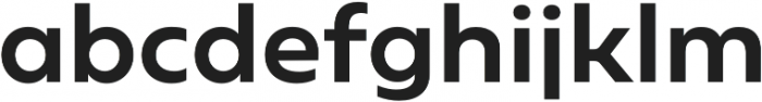 Geometrica Medium otf (500) Font LOWERCASE