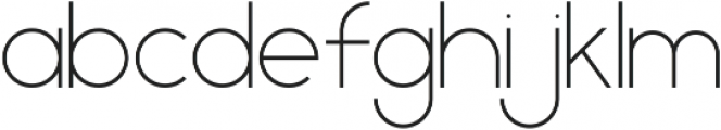 Geometrica Sans ttf (100) Font LOWERCASE