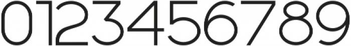 Geometrica Sans ttf (300) Font OTHER CHARS