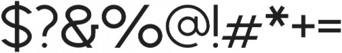 Geometrica Sans ttf (400) Font OTHER CHARS