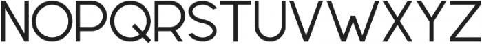 Geometrica Sans ttf (400) Font UPPERCASE
