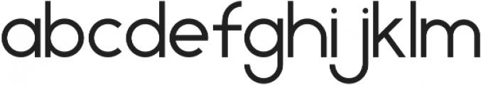 Geometrica Sans ttf (400) Font LOWERCASE