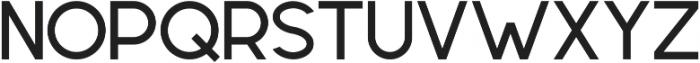 Geometrica Sans ttf (500) Font UPPERCASE
