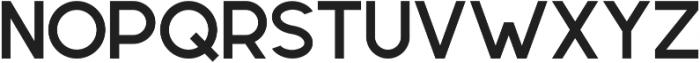 Geometrica Sans ttf (700) Font UPPERCASE