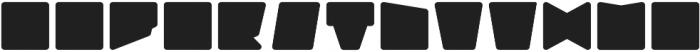 Geometry Neon Mono otf (400) Font UPPERCASE