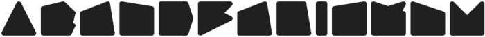 Geometry Neon Mono otf (400) Font LOWERCASE