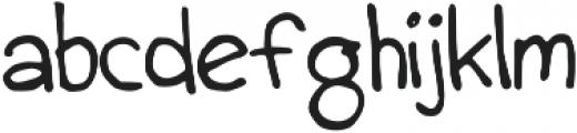 GeorgComic otf (400) Font LOWERCASE