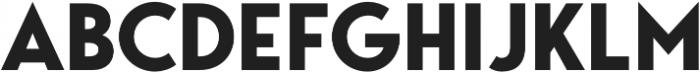 George Bold otf (700) Font UPPERCASE