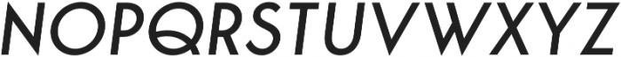 George Italic otf (400) Font UPPERCASE