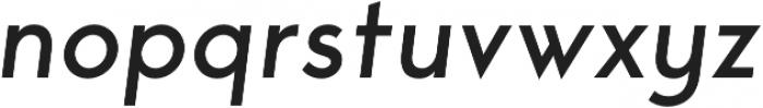 George Italic otf (400) Font LOWERCASE