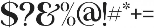 George Regular ttf (400) Font OTHER CHARS