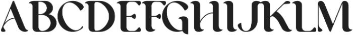 George Regular ttf (400) Font UPPERCASE