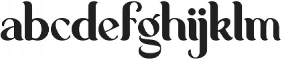 George Regular ttf (400) Font LOWERCASE