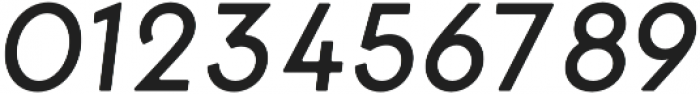 George Round Italic otf (400) Font OTHER CHARS