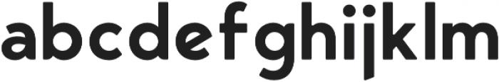 George Round Semibold otf (600) Font LOWERCASE