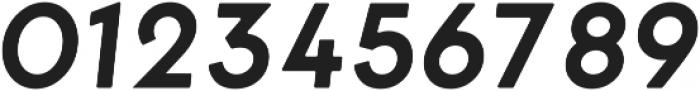 George Round SemiboldItalic ttf (600) Font OTHER CHARS