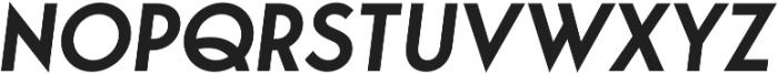 George SemiBold Italic otf (600) Font UPPERCASE