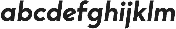 George SemiBold Italic otf (600) Font LOWERCASE