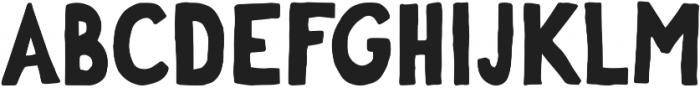 George otf (700) Font UPPERCASE