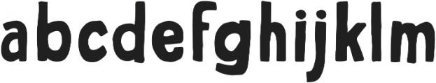 George otf (700) Font LOWERCASE