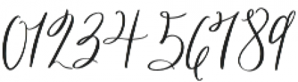 Georgette otf (400) Font OTHER CHARS