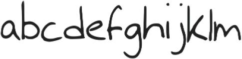 Georgey 2 ttf (400) Font LOWERCASE