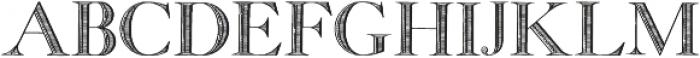 GeorgiaCapitals otf (400) Font LOWERCASE