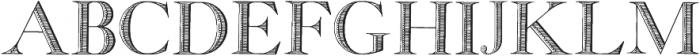 GeorgiaCapitals ttf (400) Font UPPERCASE