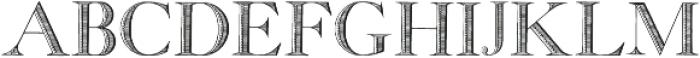 GeorgiaCapitals ttf (400) Font LOWERCASE