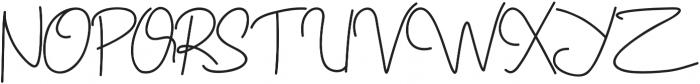 Geovana otf (400) Font UPPERCASE