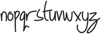 Geovana otf (400) Font LOWERCASE